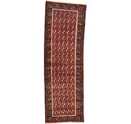Link to 3' 3 x 9' 9 Shiraz Persian Runner Rug