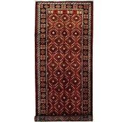 Link to 4' 8 x 12' 9 Shiraz Persian Runner Rug
