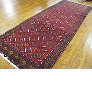Link to 3' 7 x 9' 11 Shiraz Persian Runner Rug