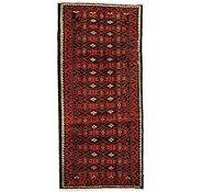 Link to 4' 3 x 9' Shiraz Persian Runner Rug