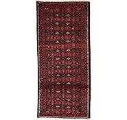 Link to 5' 3 x 13' Shiraz Persian Runner Rug