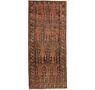 Link to 4' 4 x 9' 8 Shiraz Persian Runner Rug