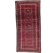 Link to 4' 10 x 10' 2 Shiraz Persian Runner Rug
