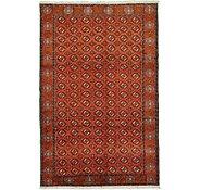 Link to 6' 6 x 10' Torkaman Persian Rug