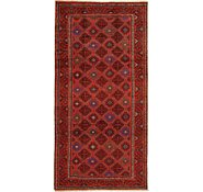 Link to 4' 11 x 9' 9 Shiraz Persian Runner Rug