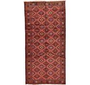 Link to 4' 11 x 10' Shiraz Persian Runner Rug