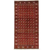 Link to 4' 11 x 9' 10 Torkaman Persian Runner Rug