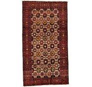 Link to 4' 8 x 8' 7 Shiraz Persian Rug