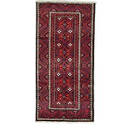 Link to 4' 9 x 9' 9 Shiraz Persian Runner Rug