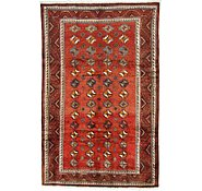 Link to 5' 9 x 9' Shiraz Persian Rug