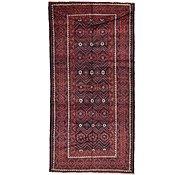 Link to 4' 10 x 9' 9 Shiraz Persian Runner Rug