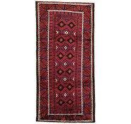 Link to 4' 8 x 9' 6 Shiraz Persian Runner Rug