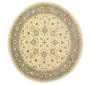 Link to 15' x 16' 1 Peshawar Ziegler Oriental Round Rug