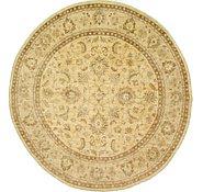 Link to 9' 10 x 10' 3 Peshawar Ziegler Oriental Round Rug