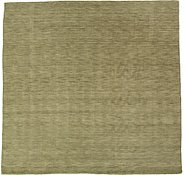 Link to 9' 5 x 9' 8 Handloom Gabbeh Square Rug