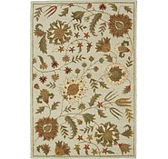 Link to 5' 2 x 7' 7 Floral Agra Rug