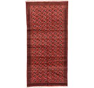 Link to 4' 11 x 10' 1 Shiraz Persian Runner Rug
