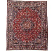 Link to 9' 10 x 11' 8 Mashad Persian Rug