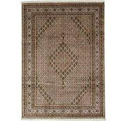 Link to 8' x 11' 4 Tabriz Oriental Rug
