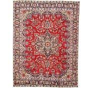 Link to 9' 2 x 12' Mashad Persian Rug
