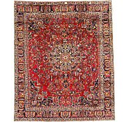 Link to 9' 4 x 11' 3 Mashad Persian Rug