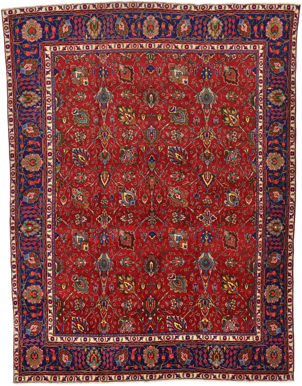 Red 9 9 X 12 11 Tabriz Persian Rug Esalerugs