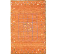 Link to 3' 8 x 5' 7 Indo Gabbeh Rug