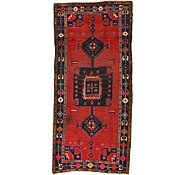 Link to 3' 9 x 8' Hamedan Persian Runner Rug