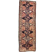 Link to 3' 8 x 11' Hamedan Persian Runner Rug