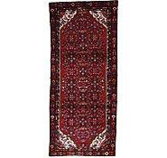 Link to 3' 7 x 8' 3 Hamedan Persian Runner Rug