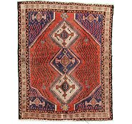 Link to 5' x 6' 4 Ghoochan Persian Rug