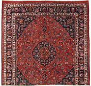 Link to 9' 7 x 10' 1 Mashad Persian Square Rug
