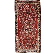 Link to 4' 5 x 9' Hamedan Persian Rug