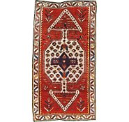 Link to 4' 8 x 8' 7 Hamedan Persian Rug