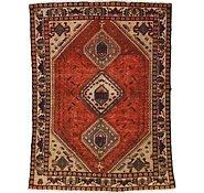 Link to 4' 9 x 6' 6 Shiraz Persian Rug
