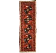 Link to 3' 7 x 10' 10 Shiraz Persian Runner Rug