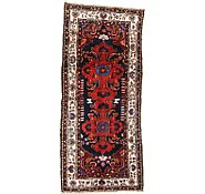 Link to 3' 8 x 8' 6 Hamedan Persian Runner Rug