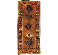 Link to 3' 10 x 8' 10 Shiraz Persian Runner Rug