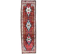 Link to 2' 10 x 9' 8 Hamedan Persian Runner Rug