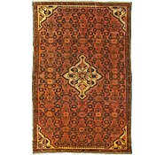 Link to 4' x 6' 2 Hossainabad Persian Rug