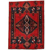 Link to 4' 1 x 5' 6 Mazlaghan Persian Rug