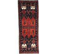 Link to 3' 10 x 9' 10 Sirjan Persian Runner Rug