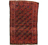 Link to 4' 7 x 6' 10 Balouch Persian Rug