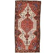 Link to 4' x 8' 1 Hamedan Persian Runner Rug
