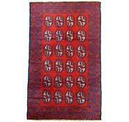 Link to 2' 9 x 4' 4 Balouch Persian Rug