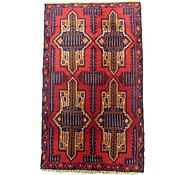 Link to 3' x 5' 1 Balouch Persian Rug