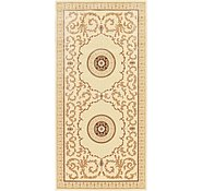 Link to 4' 10 x 10' Carved Aubusson Runner Rug