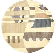 Link to 5' 9 x 5' 9 Reproduction Gabbeh Round Rug