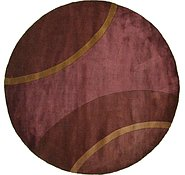 Link to 7' 9 x 7' 9 Reproduction Gabbeh Round Rug