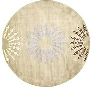 Link to 7' 8 x 7' 8 Reproduction Gabbeh Round Rug